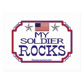My Soldier Rocks Postcard