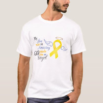 My Son An Angel - Bladder Cancer T-Shirt