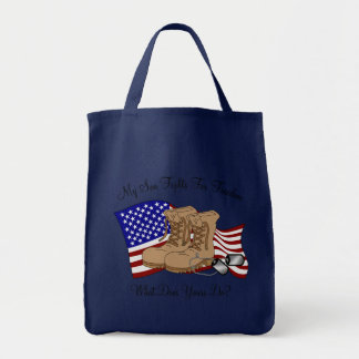 My Son Fights For Freedom Tote Bag