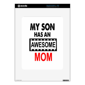 My Son Has An Awesome Mom iPad Decal