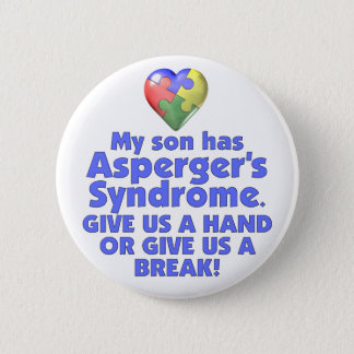 My Son Has Asperger's Button