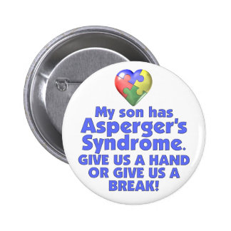 My Son Has Asperger's Pin