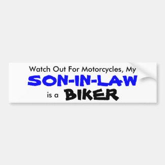 My Son-in-law is a Biker Bumper Sticker