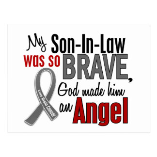 My Son-In-Law Is An Angel 1 Brain Cancer Post Cards