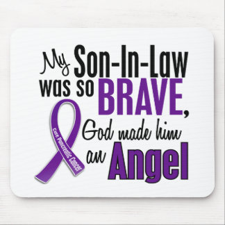 My Son-In-Law Is An Angel Pancreatic Cancer Mouse Pad