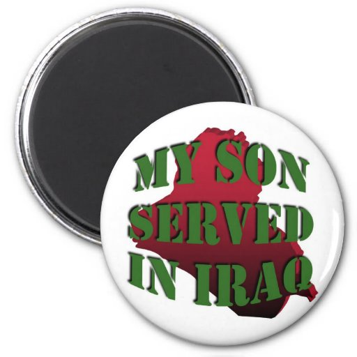 My Son Iraq Magnet