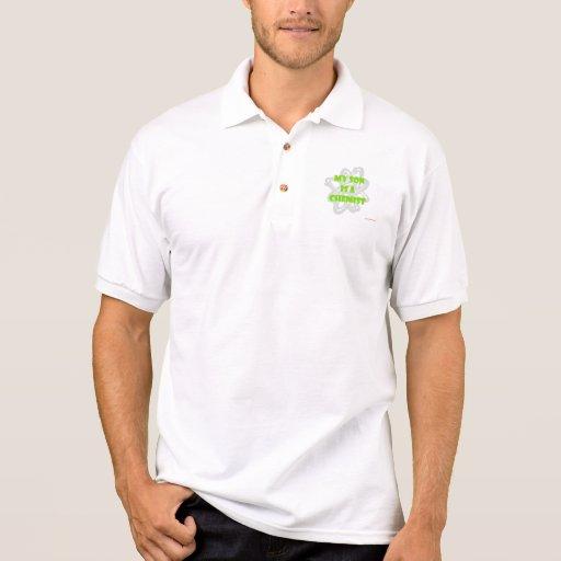 My Son Is A Chemist Polo Shirts