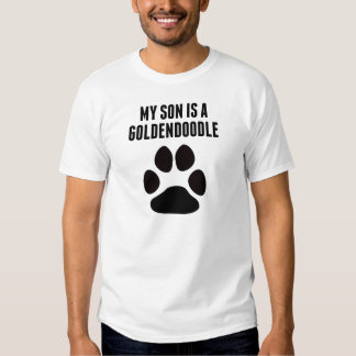 My Son Is A Goldendoodle Shirt