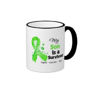 My Son is a Lymphoma Survivor Ringer Mug