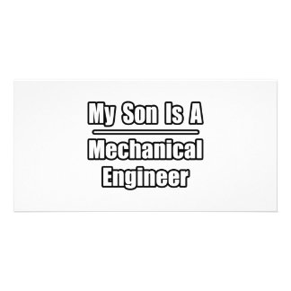 My Son Is A Mechanical Engineer Photo Card