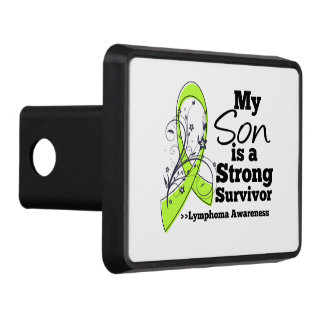 My Son is a Strong Survivor of Lymphoma Tow Hitch Covers
