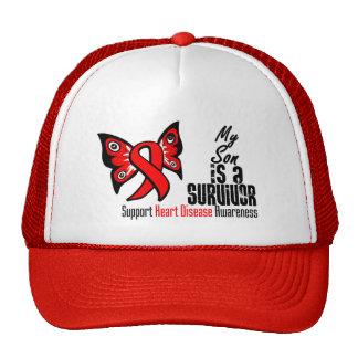 My Son is a Survivor - Heart Disease Trucker Hat