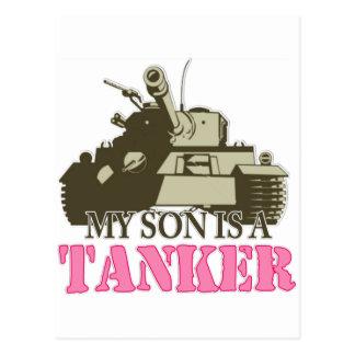 My Son is a tanker Postcard