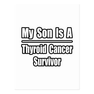 My Son Is A Thyroid Cancer Survivor Postcards