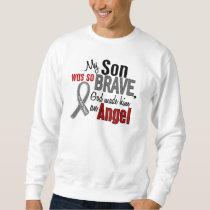 My Son Is An Angel 1 Brain Cancer Sweatshirt