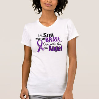 My Son Is An Angel Pancreatic Cancer T-Shirt