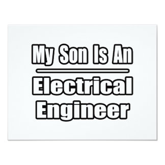 My Son Is An Electrical Engineer Personalized Announcements