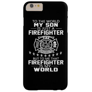 MY SON IS FIREFIGHTER BARELY THERE iPhone 6 PLUS CASE