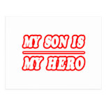 My Son Is My Hero Post Cards
