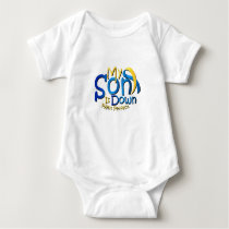 My Son Is Perfect Down Syndrome Awareness Baby Bodysuit
