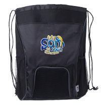 My Son Is Perfect Down Syndrome Awareness Drawstring Backpack