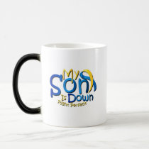 My Son Is Perfect Down Syndrome Awareness Magic Mug