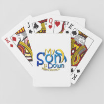 My Son Is Perfect Down Syndrome Awareness Playing Cards