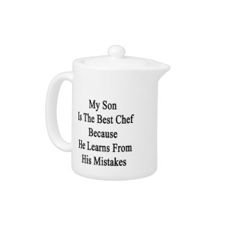 My Son Is The Best Chef Because He Learns From His Teapot