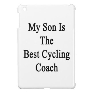My Son Is The Best Cycling Coach iPad Mini Case