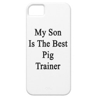 My Son Is The Best Pig Trainer iPhone 5 Cover