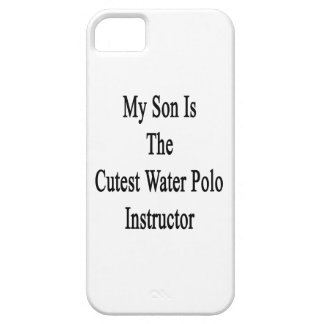 My Son Is The Cutest Water Polo Instructor iPhone 5 Cover