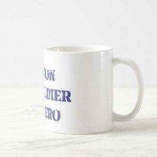My son, my soldier, my hero classic white coffee mug