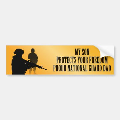 My son protects your freedom navy dad bumper sticker zazzle com