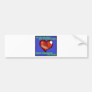 My Son Was Born With A Broken Heart Bumper Sticker