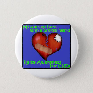 My Son Was Born With A Broken Heart Button