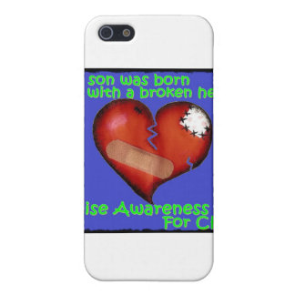 My Son Was Born With A Broken Heart iPhone SE/5/5s Cover