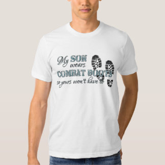 My Son Wears Combat Boots T-Shirt