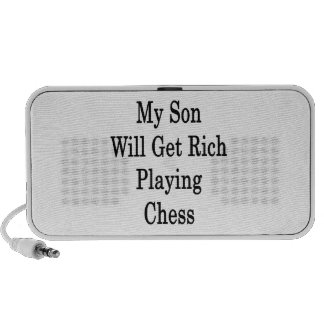 My Son Will Get Rich Playing Chess Mini Speakers