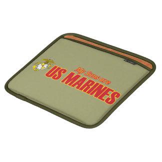 My Sons are Marines iPad Sleeve