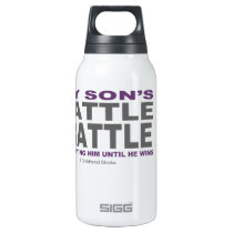 My Son's Battle Insulated Water Bottle