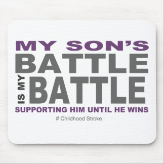 My Son's Battle Mouse Pad
