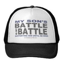 My Son's Battle Trucker Hat