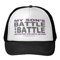 My Son's Battle Trucker Hat