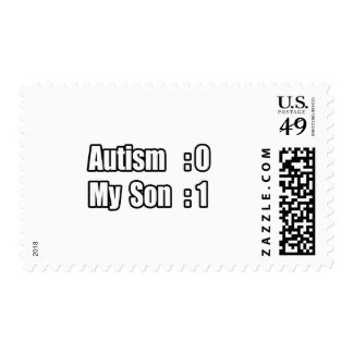 My Son's Beating Autism Stamps
