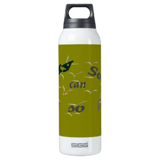 My soul 16 oz insulated SIGG thermos water bottle