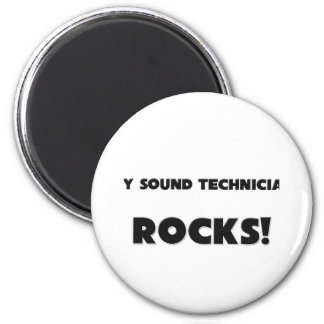 MY Sound Technician ROCKS! Magnet
