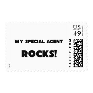 MY Special Agent ROCKS! Postage Stamp