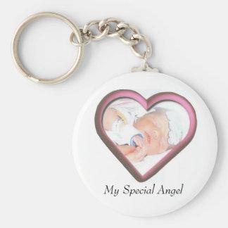 My Special Angel Basic Round Button Keychain