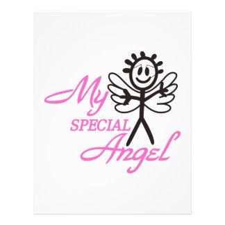 My Special Angel Letterhead
