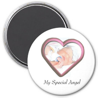My Special Angel 3 Inch Round Magnet